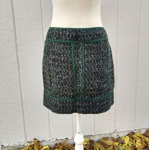 J Crew Factory Tweed Wool Blend Mini Skirt NWT's!